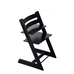 Tripp trapp chaise-noire