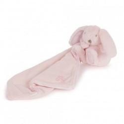 Augustin le lapin-doudou rose