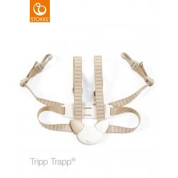 Tripp trapp-harnais beige