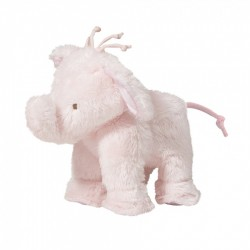 Ferdinant l'elephant 12cm-rose