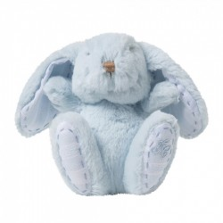 Augustin le lapin-12cm bleu