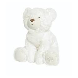 Prosper l'ours polaire 25 cm-ecru