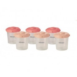 6 portions clip 200ml-pink edition