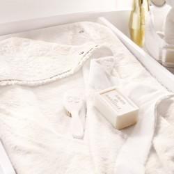 Delicatesse nacre-sortie de bain