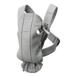 Porte bebe mini-3d jersey gris clair