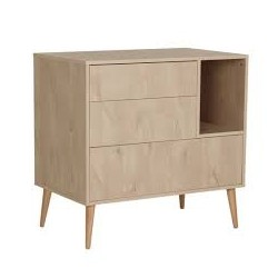 COCOON COMMODE-NATURAL OAK