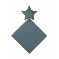 DOUDOU LOVEY STAR-ICE BLUE