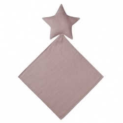 DOUDOU LOVEY STAR--DUSTY PINK
