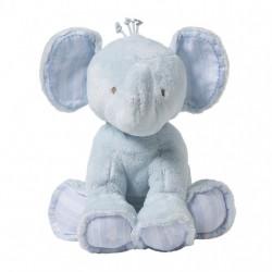 FERDINAND L'ELEPHANT 25CM-CIEL