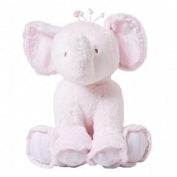 FERDINAND L'ELEPHANT 25CM-ROSE