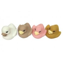 4 CANARDS DE BAINS SOFT COLOR