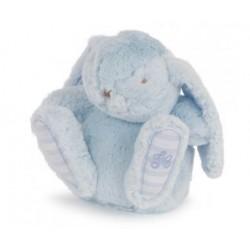 Augustin le lapin-25cm bleu