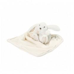 Augustin le lapin-doudou ecru