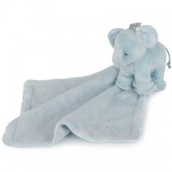 Elephant doudou-bleu